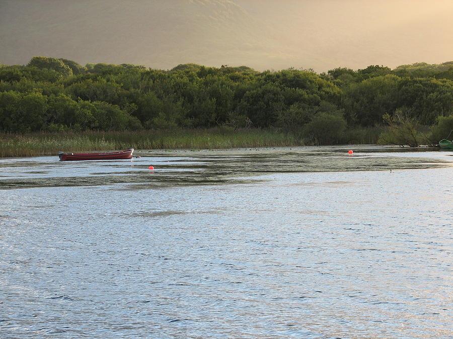 Boat Photograph - Sunset Over Killarney by Kelly Mezzapelle