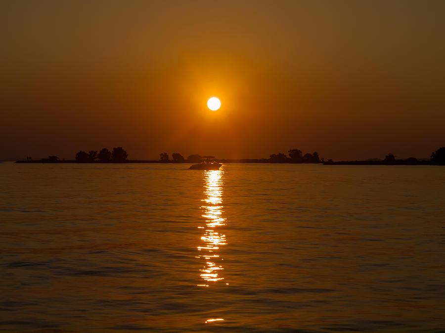 Texas Photograph   Sunset Over Lake Livingston Texas By Joshua House
