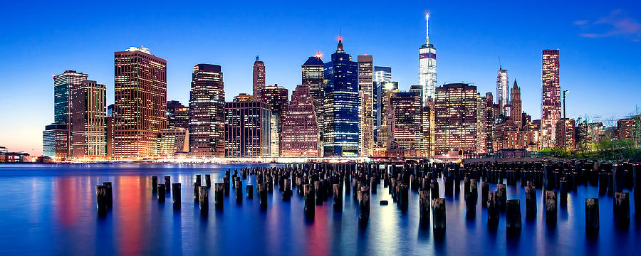 New York City Photograph - Magic Manhattan by Az Jackson