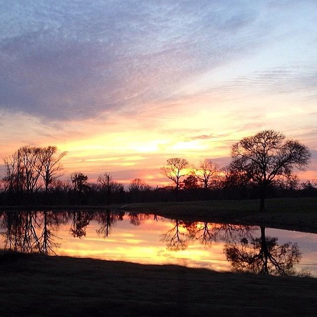 Travel Photograph - Sunset On The Lake by Jen McKnight