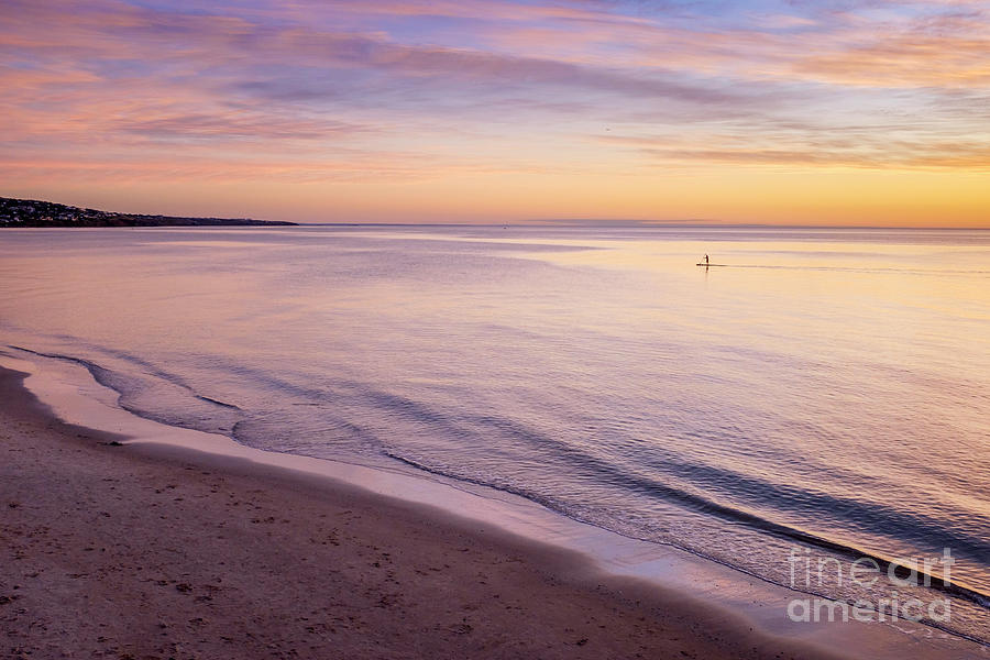 Sunset Paddle by Ray Warren