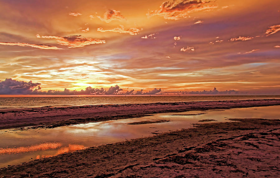 Sunset - Painted Sky by HH Photography of Florida