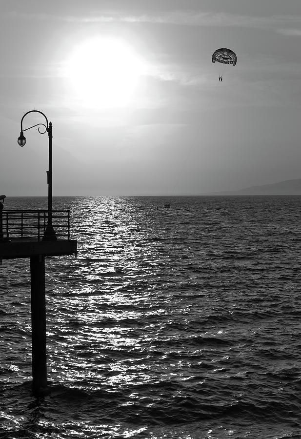 Sunset Parasailing Photograph