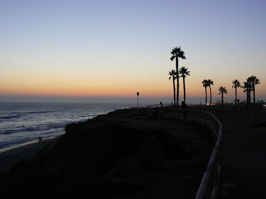 Pacific Ocean Photograph - Sunset Pch 2006 by Ron Hayes