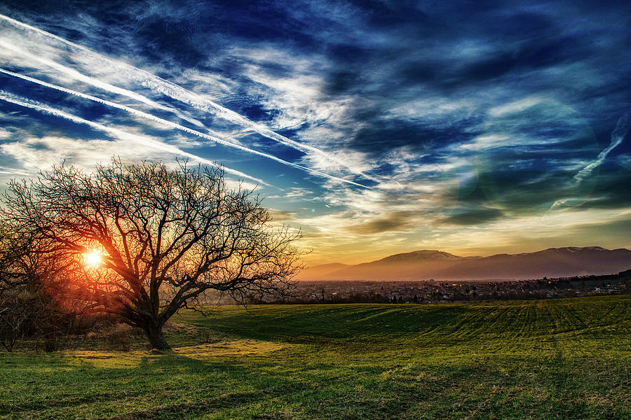 Sunset Photograph - Sunset by Plamen Petkov