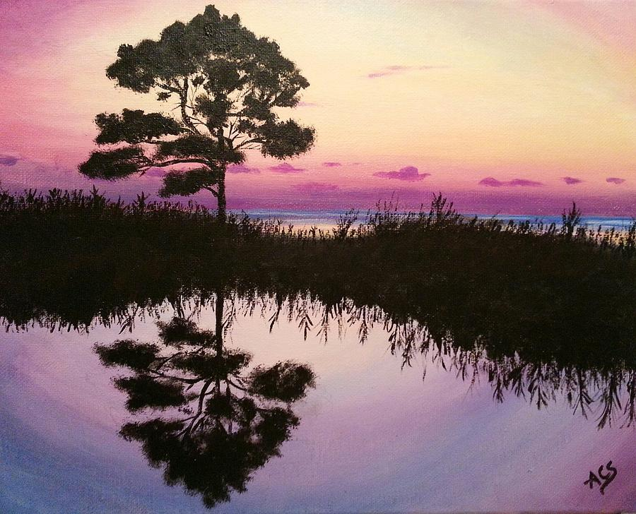 Sunset Reflection by Amelie Simmons
