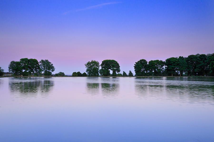 Sunset Reflection Photograph
