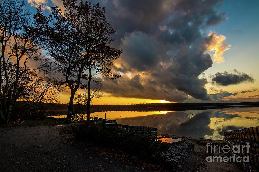 Sunset Photograph - Sunset Reflection by Neil Taitel