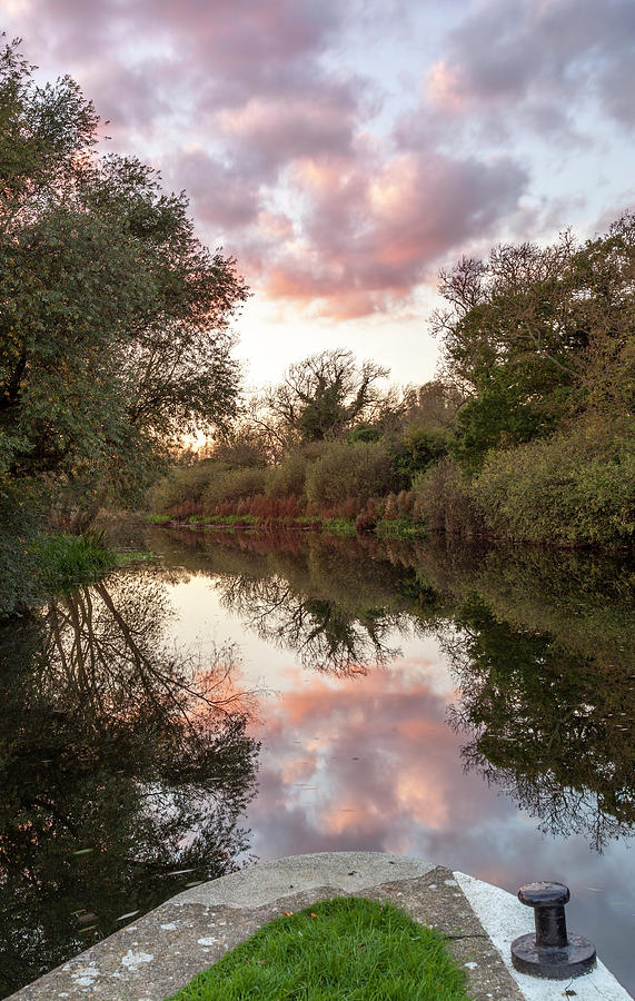Sunset, River Nene by Nick Atkin
