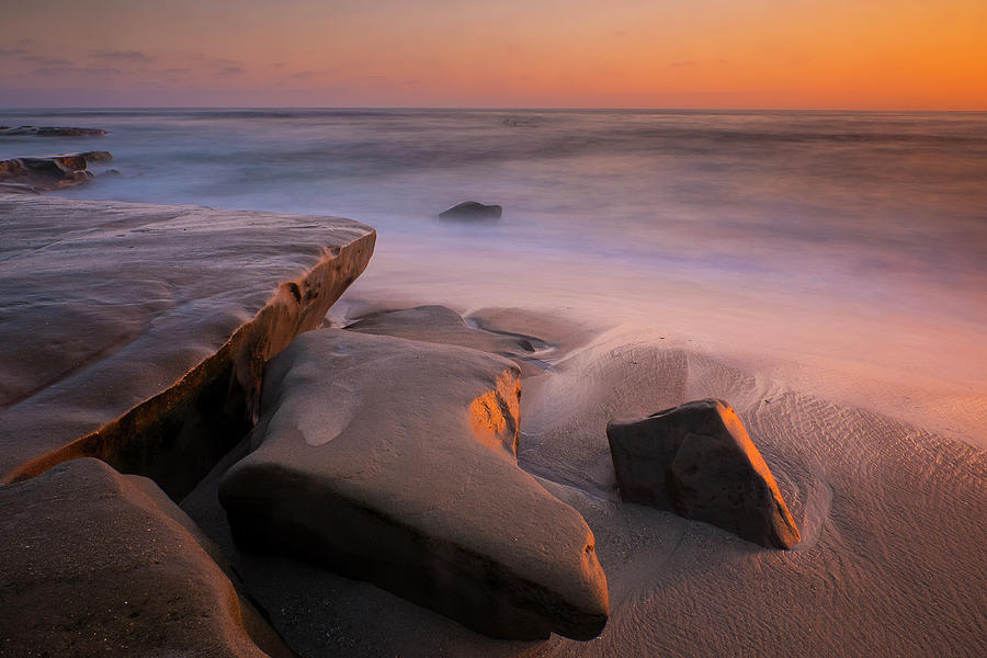 Sunset Rocks by Andy Bitterer