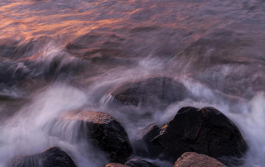 Sunset Rocks Photograph