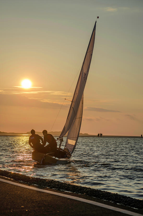 Sunset Sailing  by Spikey Mouse Photography