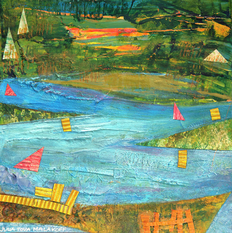 Sunset Sails 2 by Paper Jewels By Julia Malakoff