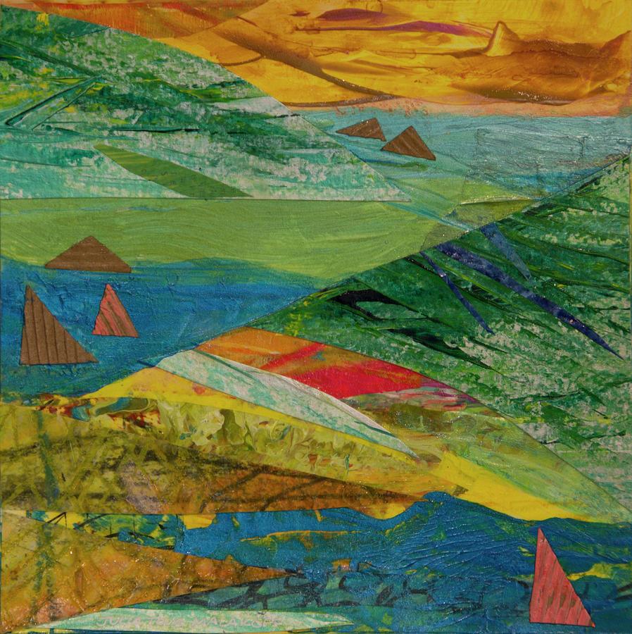 Sunset Sails 3 by Paper Jewels By Julia Malakoff