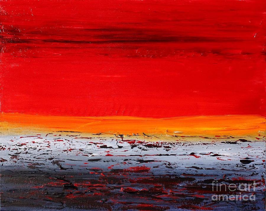 Sunset sea 6 by Preethi Mathialagan