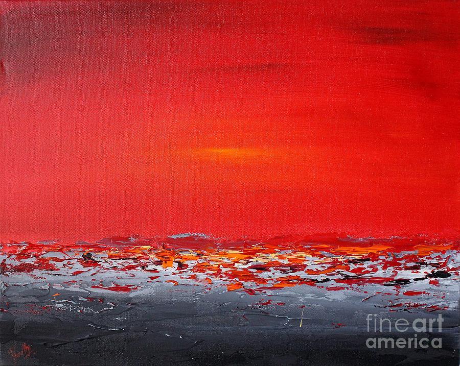Sunset sea 7 by Preethi Mathialagan