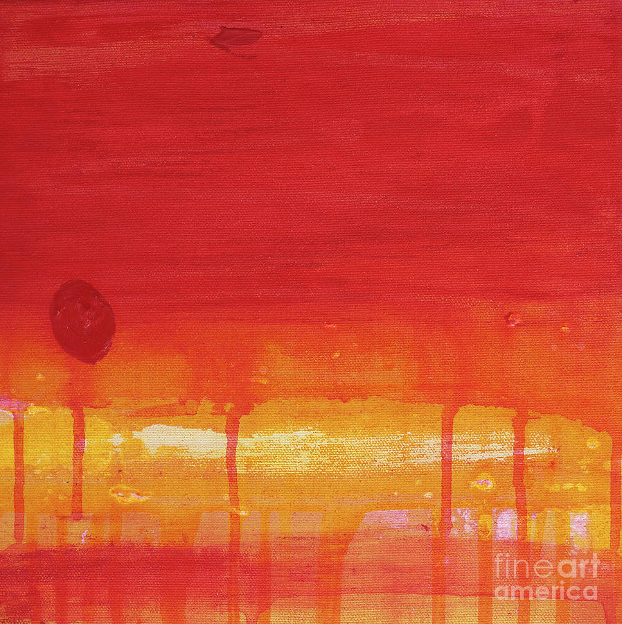 Abstract Painting - Sunset Series Untitled II by Nickola McCoy-Snell