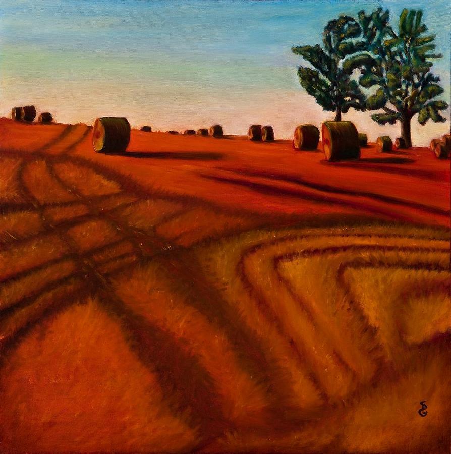Landscape Painting - Sunset by Sheri Gundry