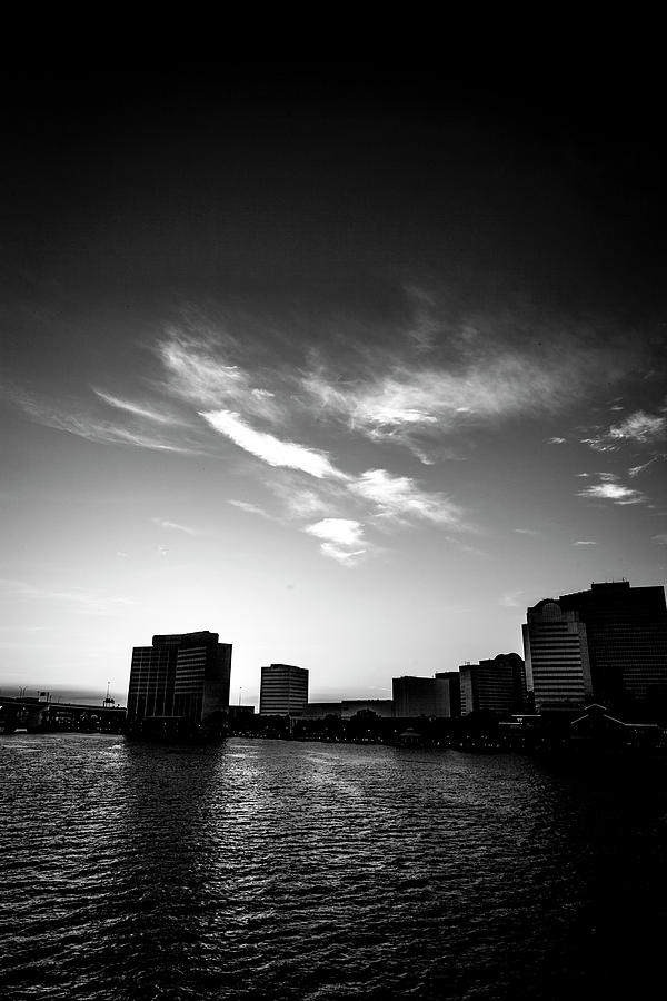 Cityscape Photograph - Sunset Silhouette by Eric Christopher Jackson