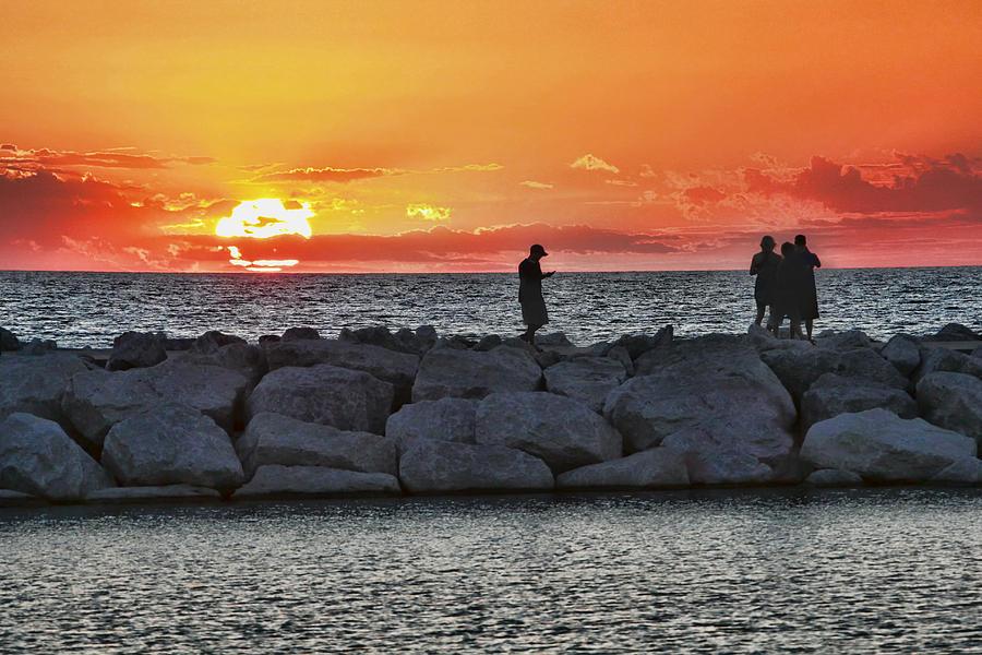 Sunset Silhoutte Photograph