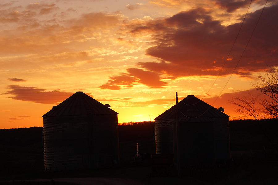 Sunset Silos by Jana Russon