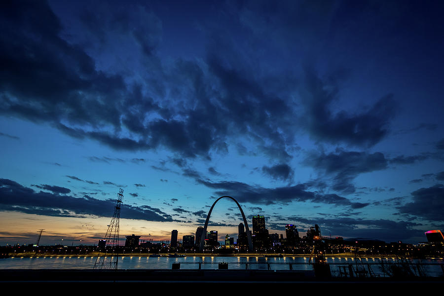 Sunset St. Louis III by Matthew Chapman