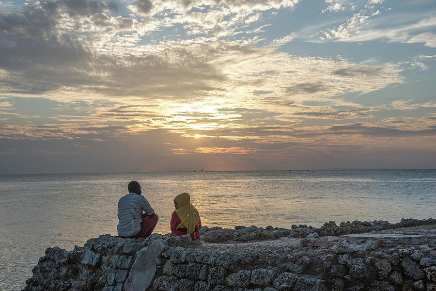 Sunset Stonetown Zanzibar by Gareth Pickering