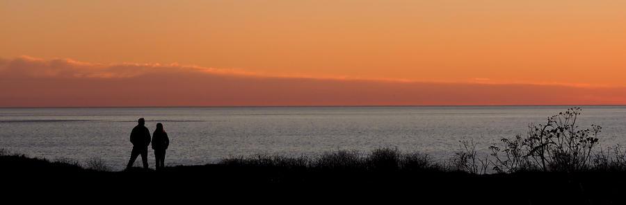 Sunset Stroll Photograph