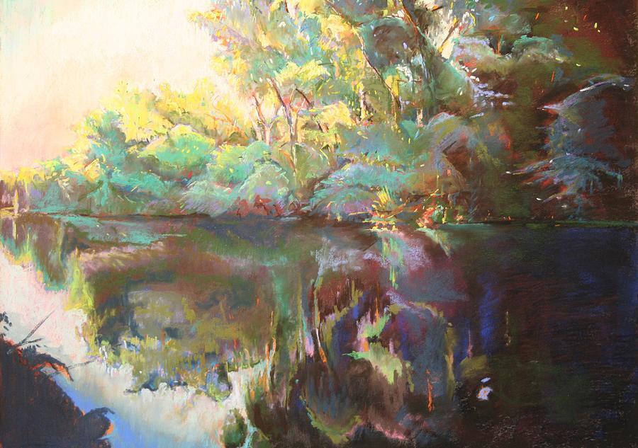 Landscape Painting - Sunset by Stuart Roddy