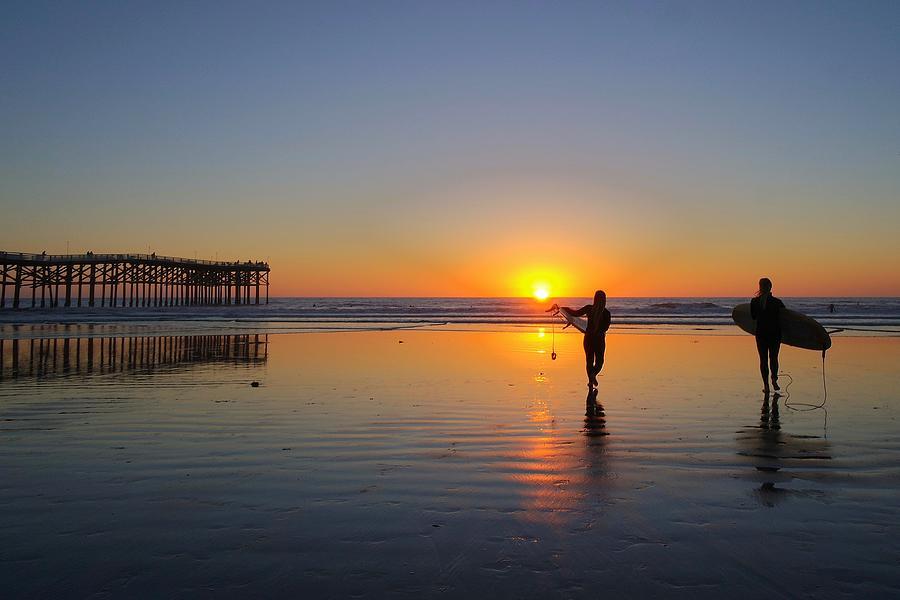 Sunset Surf by Jeffrey Ommen