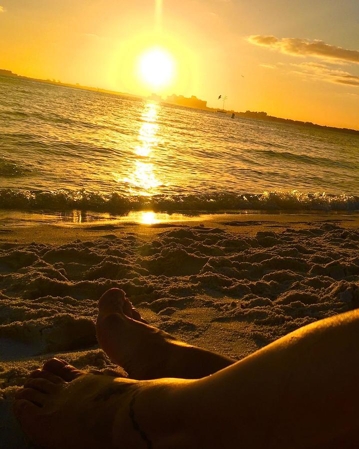 Sunset by Thelma Delgado