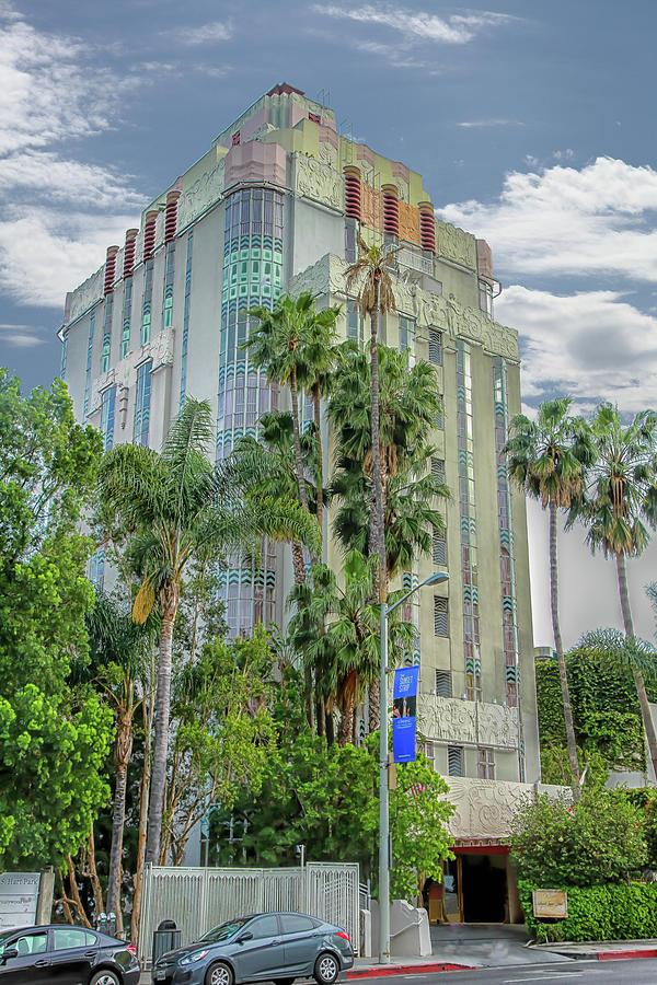 Sunset Strip Photograph - Sunset Tower Hotel by Robert Hebert