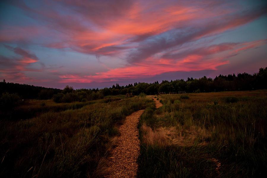 Sunset Trail Walk by Doug Scrima