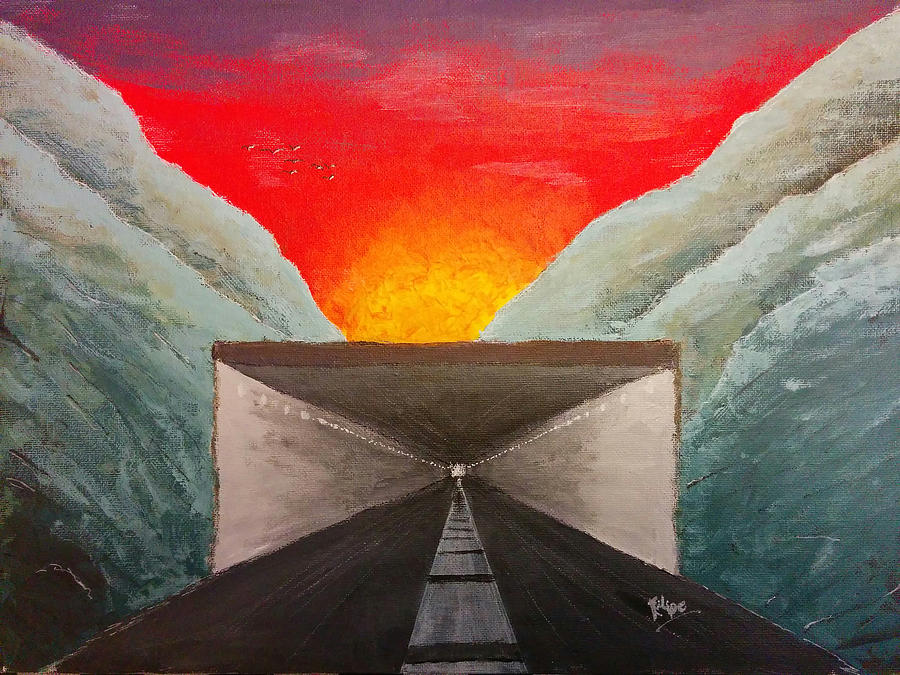 Sunset Tunnel by Filipe by Renata Vincoletto