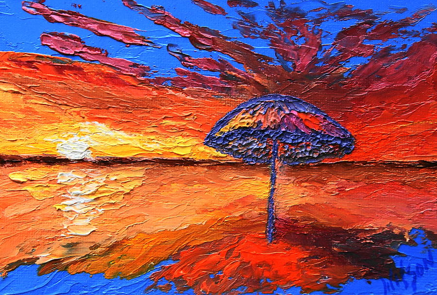 Sunset Umbrella by Chrys Wilson