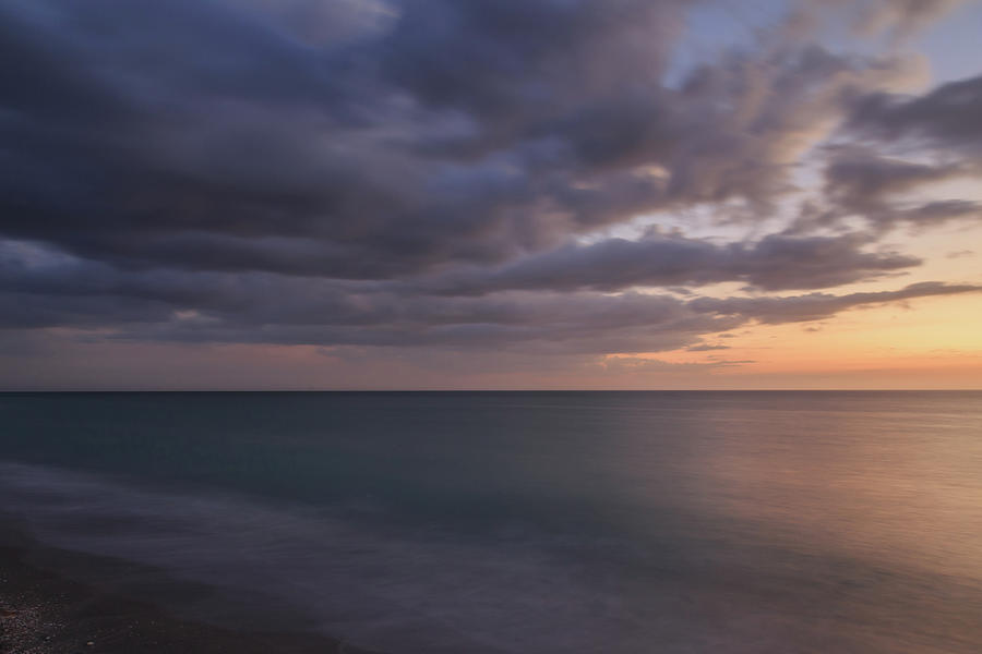 Sunset, Venice Beach, Florida by Paul Schultz