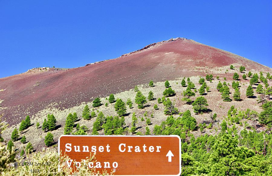 Sunset Crater Volcano Photograph