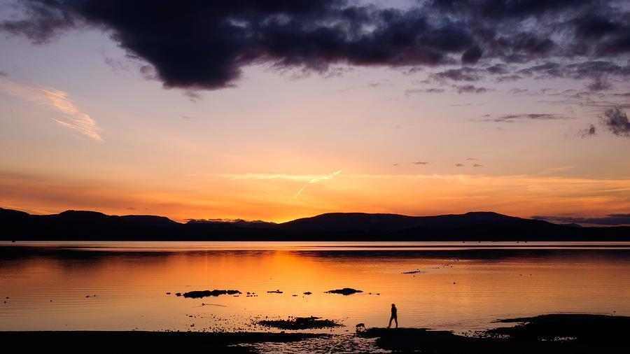 Sunset Walk by Ken Foster