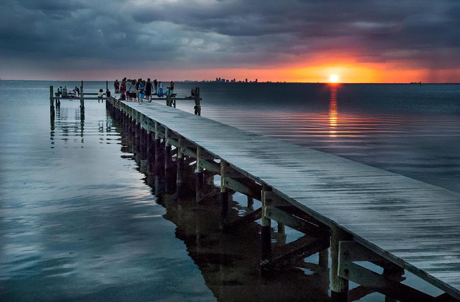 Sunset Photograph - Sunset Watch by Norman Johnson