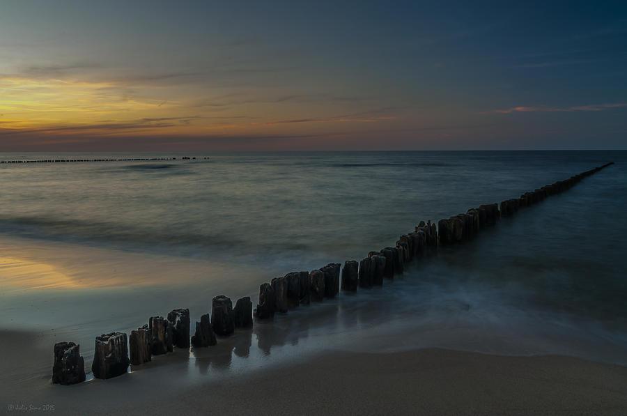 Sunset Zen Mood Seascape Photograph