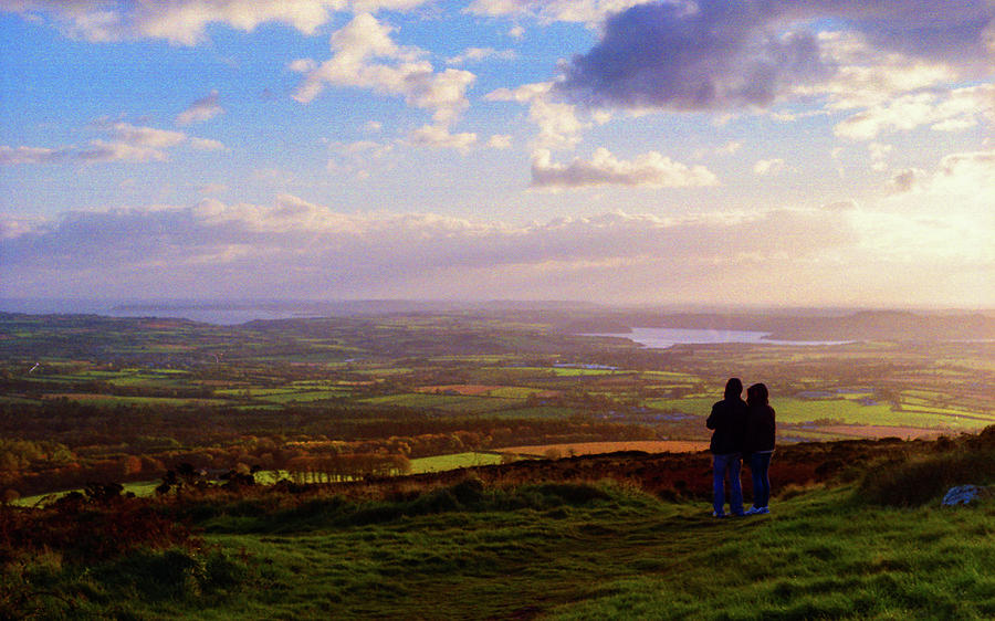 35mm Photograph - Sunsets Over The Irish Midlands by Colum ODwyer