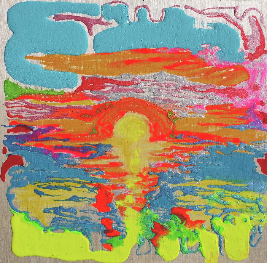 Sunset Painting - Sunsetting #1 by Joseph Demaree