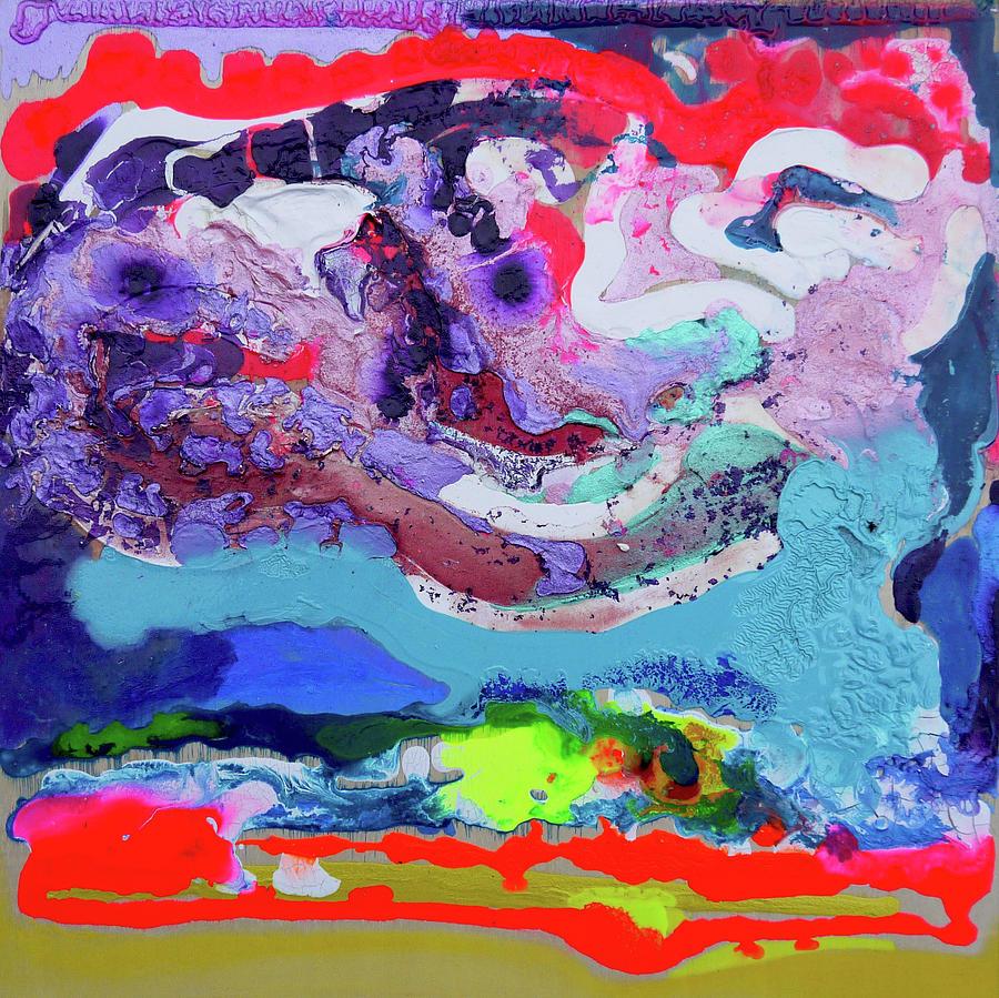 Mixed Painting - Sunsetting #7 by Joseph Demaree