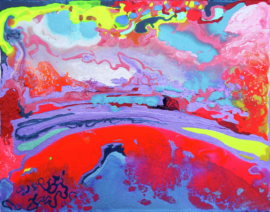 Sunset Painting - Sunsetting #8 by Joseph Demaree