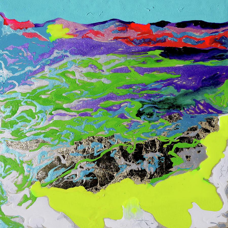 Haleakala Painting - Sunsetting Haleakala by Joseph Demaree