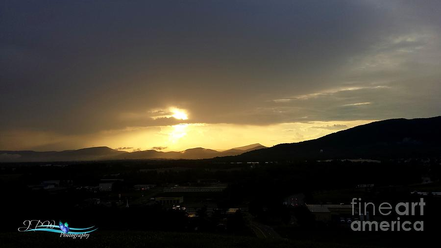 Sunsetting On The Valley Photograph