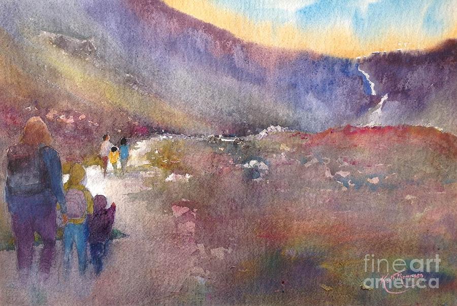 Sunshine and Shadows, Mahon Falls by Keith Thompson