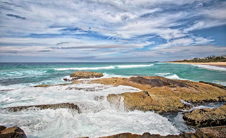 Beach Photograph - Sunshine Beach, Noosa by Chris Hood