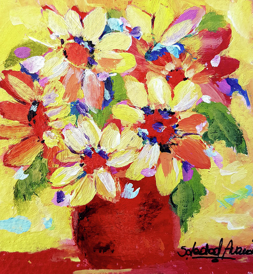 Sunshine Blooms by Sole Avaria