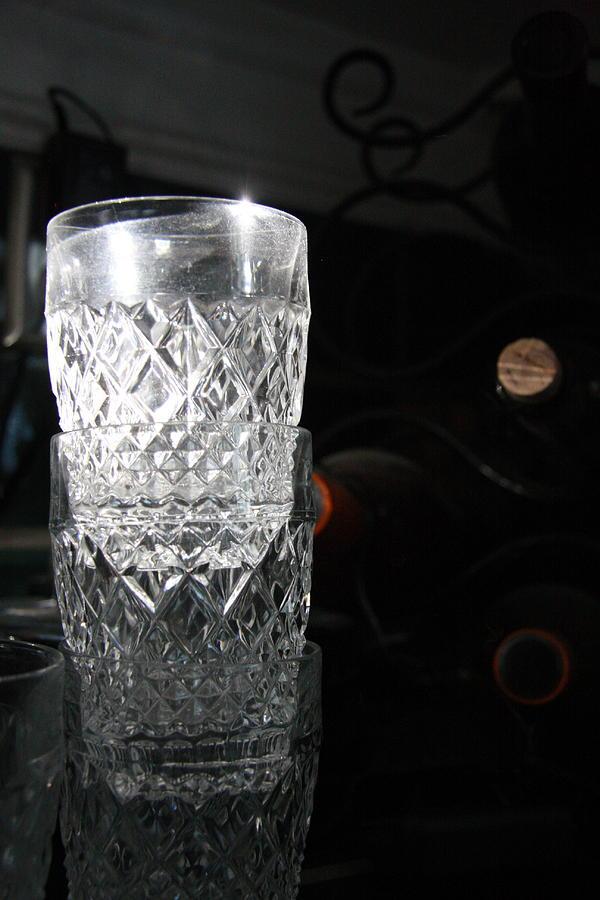 Wine Photograph - Sunshine In My Glass by Jonathan Kotinek
